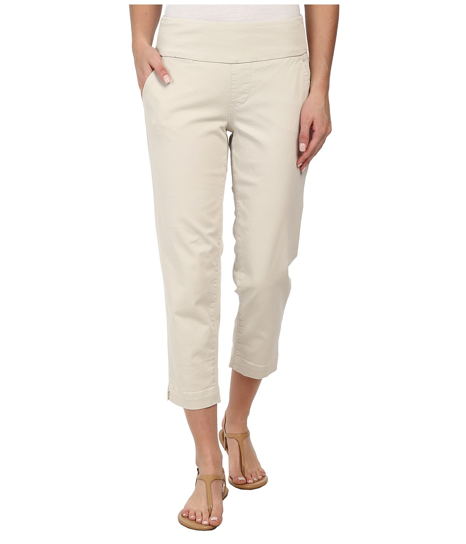Jag Jeans - Hope Bay Twill Slim Fit Crop (Stone) Women's Casual Pants