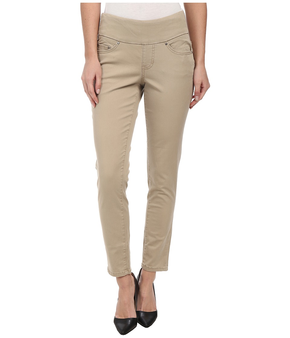 Jag Jeans - Amelia Pull-On Slim Ankle in Bay Twill (British Khaki) Women's Casual Pants