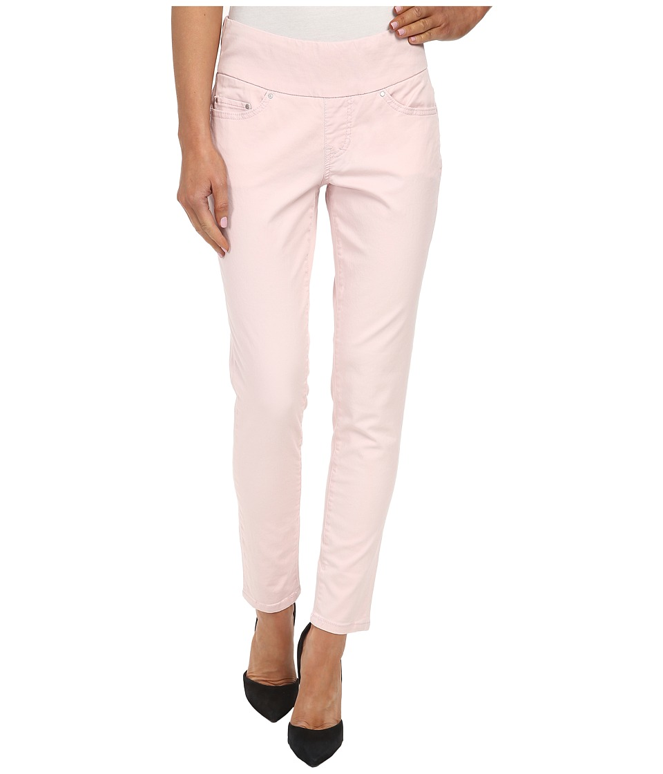 Jag Jeans - Amelia Pull-On Slim Ankle in Bay Twill (Blush Pink) Women's Casual Pants