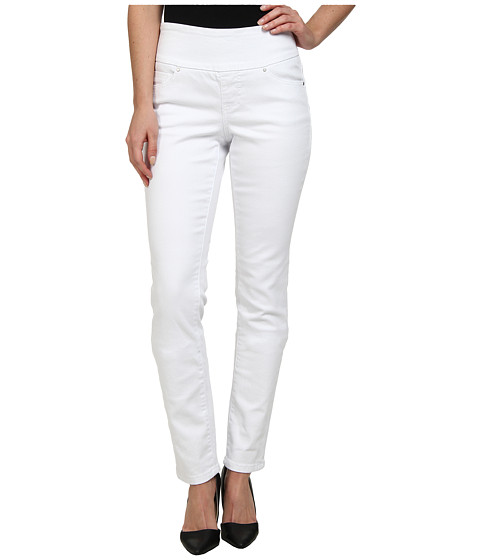 Jag Jeans - Gina Pull-On Slim Leg in White (White) Women's Jeans