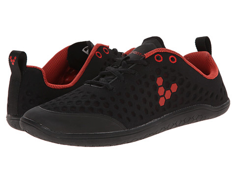Vivobarefoot - Stealth L (Black/Red) Women's Running Shoes