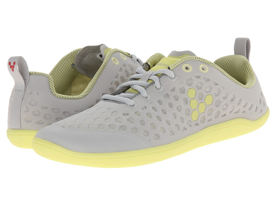 Vivobarefoot - Stealth L (Grey/Lemon) Women's Running Shoes