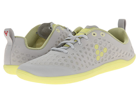 Vivobarefoot - Stealth L (Grey/Lemon) Women's Running Shoes