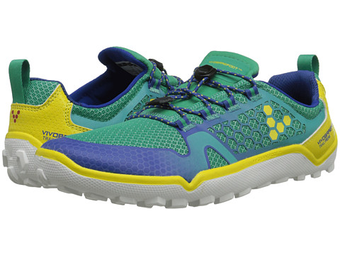 Vivobarefoot - Trail Freak (Sea Green) Women's Running Shoes