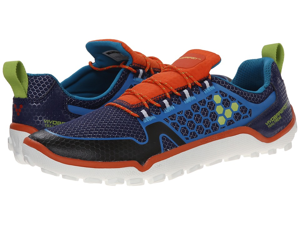 Vivobarefoot - Trail Freak (Navy/Orange) Women's Running Shoes