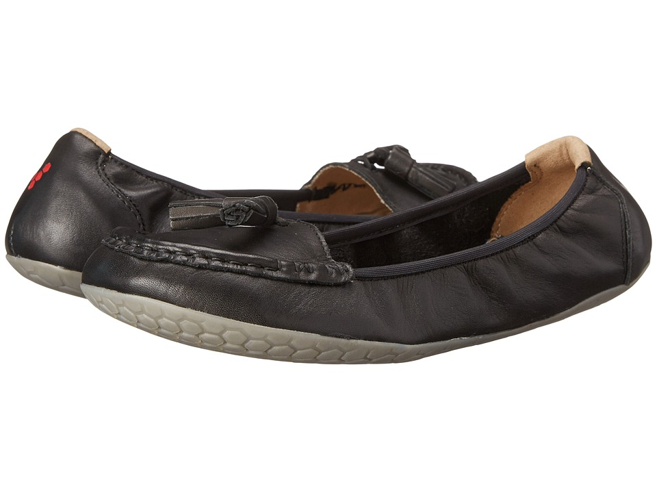 Vivobarefoot - Penny (Black Leather) Women's Flat Shoes