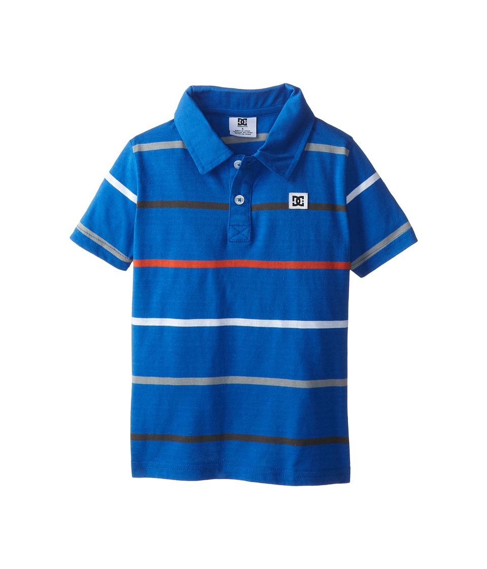 DC Kids - Weld Polo (Little Kids) (Nautical Blue) Boy's Short Sleeve Pullover