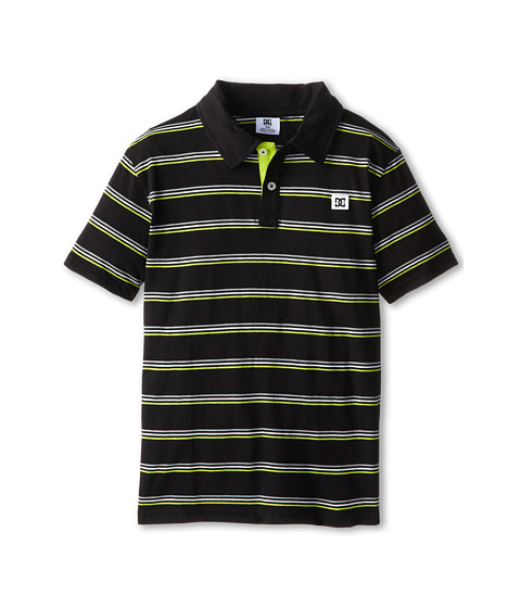 DC Kids - Rotation Polo (Big Kids) (Black) Boy