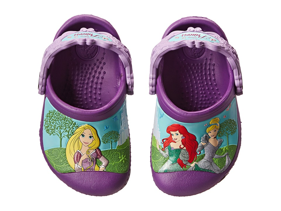 Crocs Kids - Magical Day Princess Clog (Toddler/Little Kid) (Amethyst/Iris) Girls Shoes