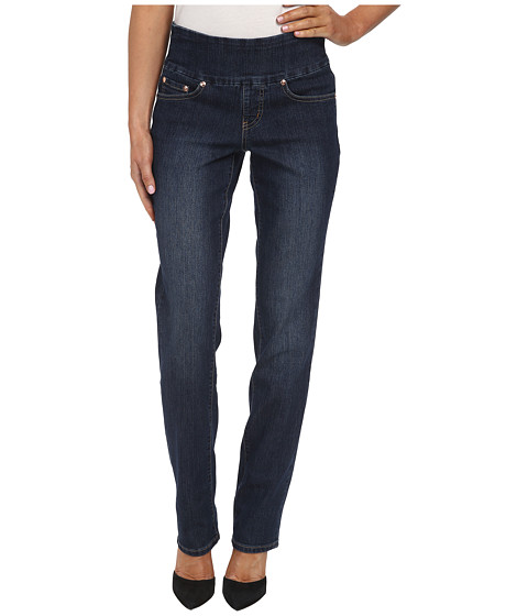 Jag Jeans - Peri Pull-On Straight Leg in Blue Shadow (Blue Shadow) Women's Jeans