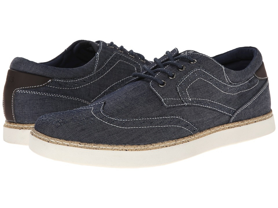 Stacy Adams - Tru (Navy Denim) Men