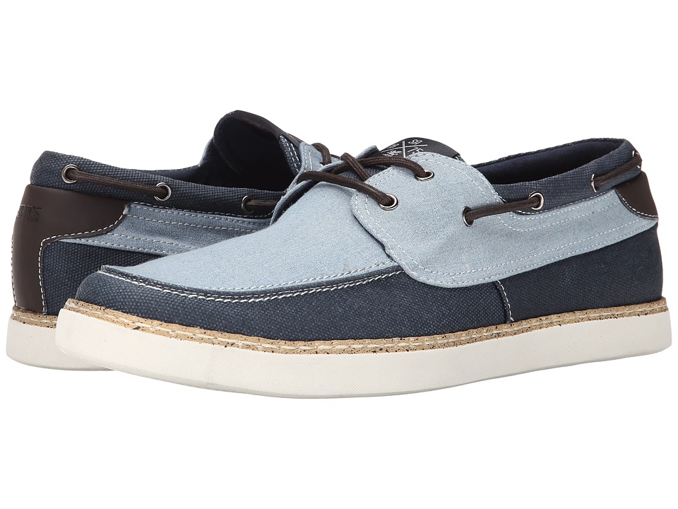 Stacy Adams - Tailwind (Light Blue Denim/Navy Canvas) Men