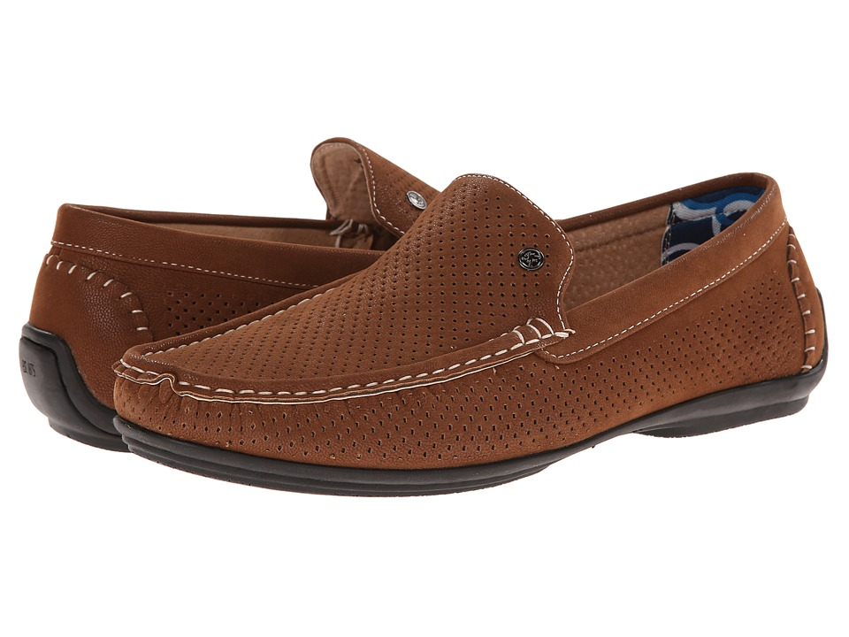 Stacy Adams - Pax (Cognac) Men's Slip on Shoes