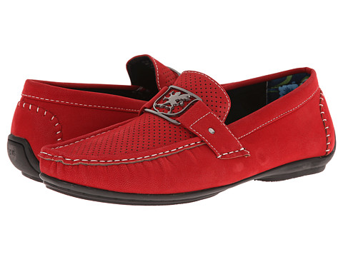 Stacy Adams - Primo (Red) Men's Slip on Shoes