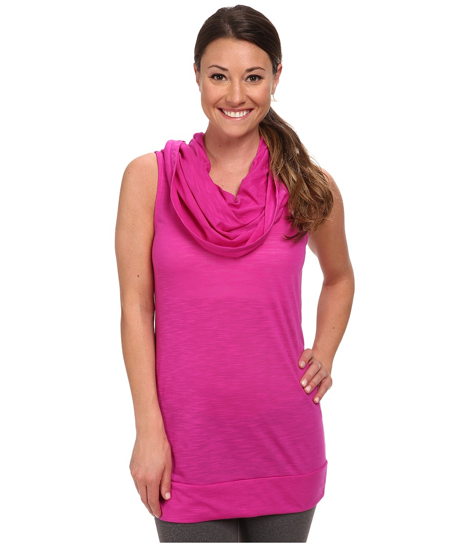 Lucy - Body and Mind Tunic (Neon Berry) Women's Clothing