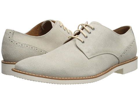 Stacy Adams - Stewart (Oyster Suede) Men's Shoes
