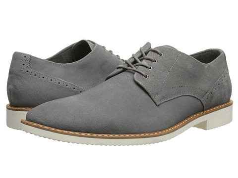 Stacy Adams - Stewart (Gray Suede) Men's Shoes