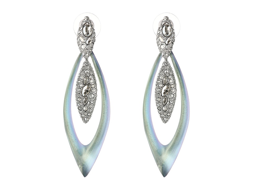 Alexis Bittar - Encrusted Marquis Dangling Post Earrings (Opalescent) Earring