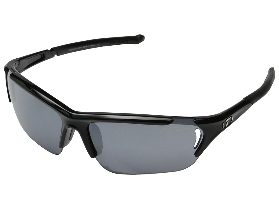 Tifosi Optics - Radiustm FC Interchangeable (Gloss Black) Athletic Performance Sport Sunglasses