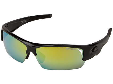 Tifosi Optics - Lore All-Sport Interchangeable (Gloss Black) Athletic Performance Sport Sunglasses