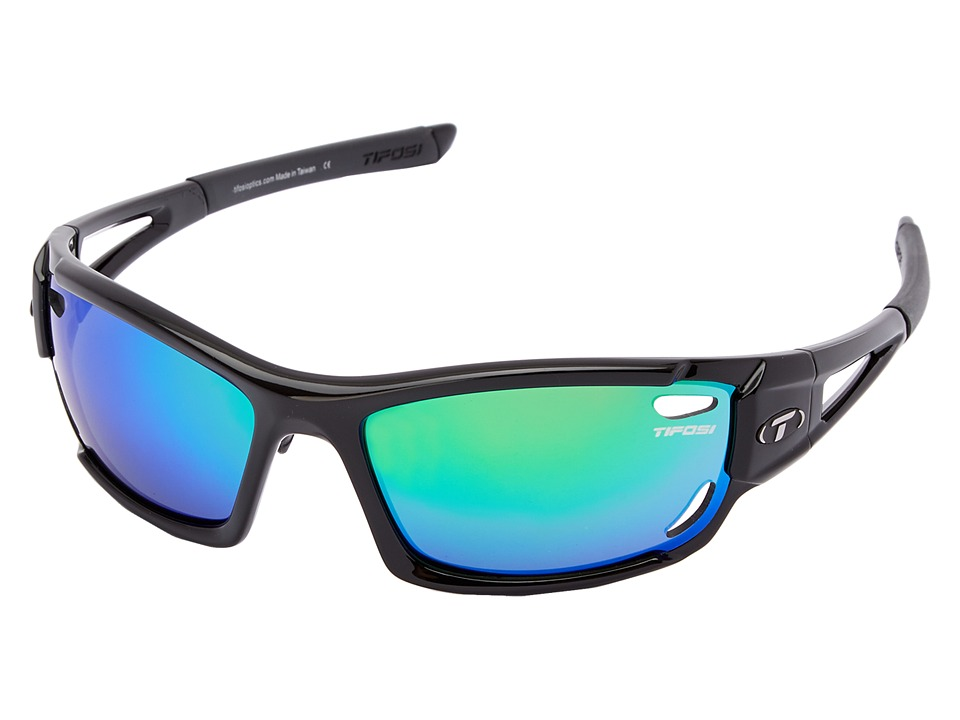 Tifosi Optics - Dolomite 2.0 Interchangeable (Gloss Black) Sport Sunglasses