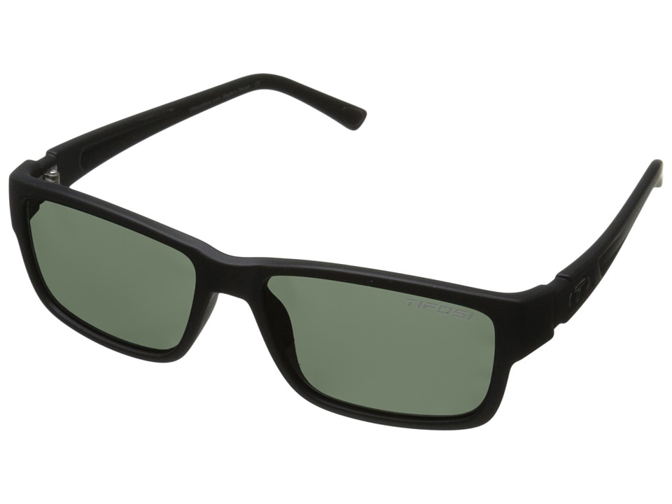 Tifosi Optics - Hagen Polarized (Matte Black) Polarized Sport Sunglasses