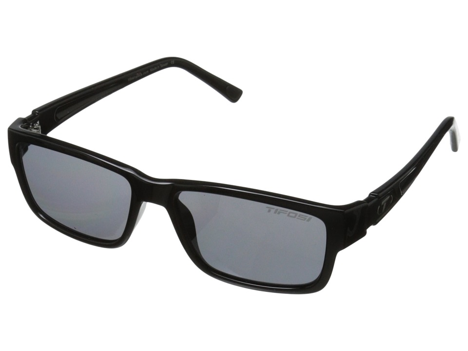 Tifosi Optics - Hagen (Gloss Black) Athletic Performance Sport Sunglasses