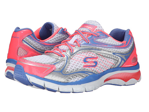 SKECHERS - Prize Seeker (White Pink) Women's Shoes