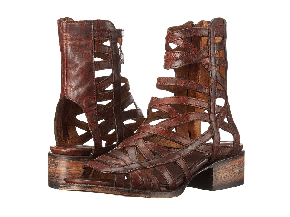 Freebird - Queen (Cognac) Women's Zip Boots