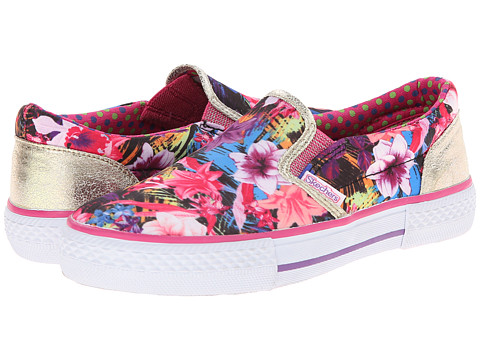 SKECHERS KIDS - Esplanade - Tropical Toes 83705L (Little Kid/Big Kid) (Multi) Girl's Shoes