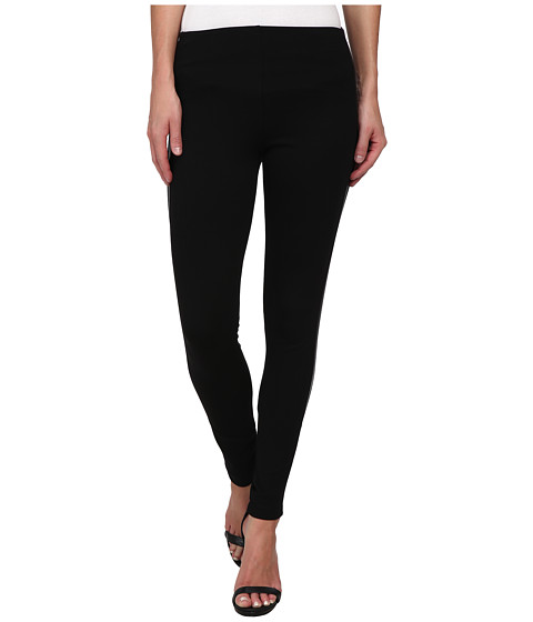 Lysse - Vegan Tuxedo Stripe Leggings (Black) Women