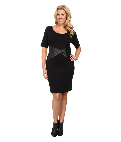 Lysse - Plus Size Hayden Dress (Black) Women's Dress