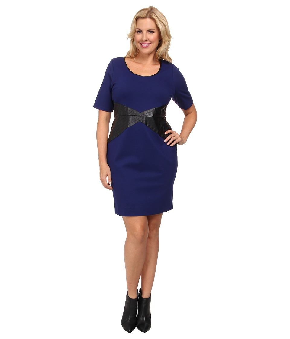 Lysse - Plus Size Hayden Dress (Blueprint) Women's Dress