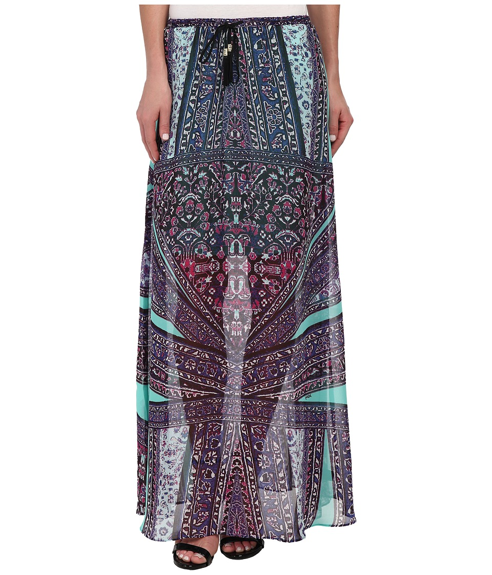 Hale Bob - Weekend Getaway Maxi Skirt (Teal) Women