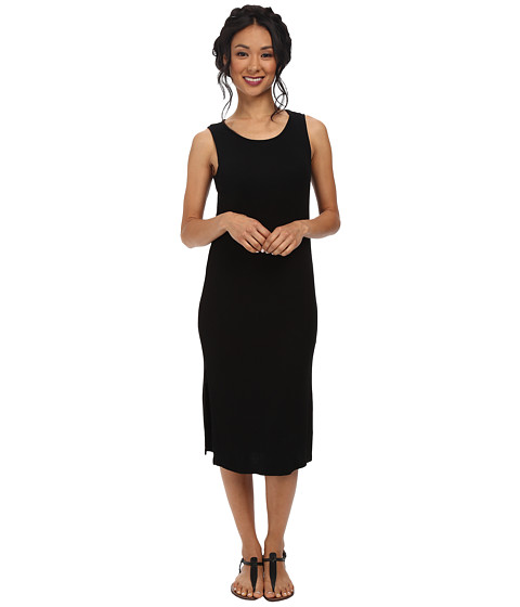 Splendid - 2X1 Ribbed Dress (Black) Women's Dress