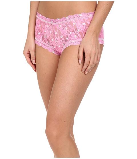 Hanky Panky - Dorothy Dot Boyshort (Pink White) Women's Underwear