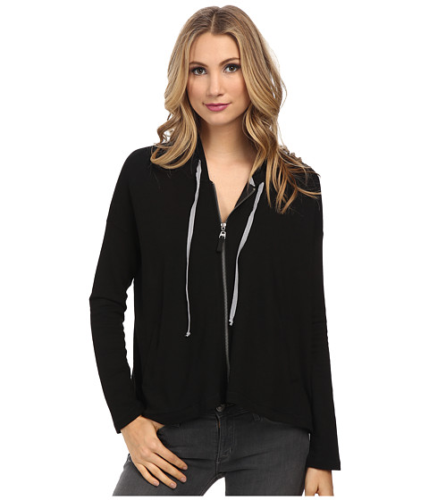 Splendid - Isleton Active Hoodie (Black) Women's Sweatshirt