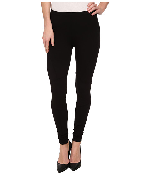 Splendid - French Terry Seamed Legging (Black) Women's Casual Pants