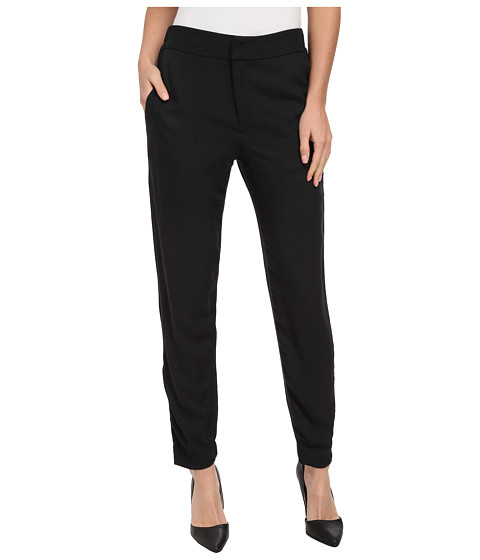 Splendid - Rayon Twill Blend Pant (Black) Women's Casual Pants