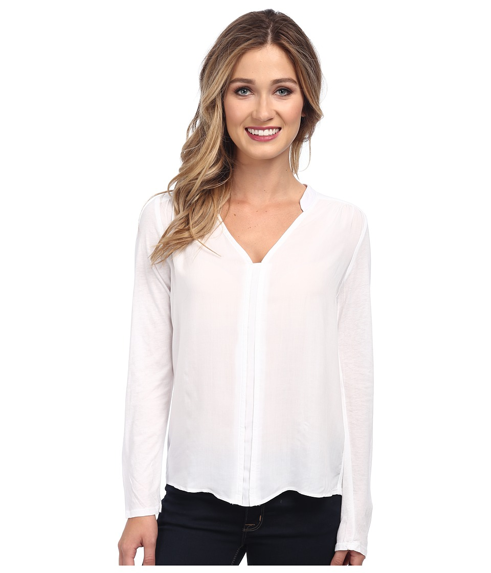 Splendid - Rayon Voile Shirting (White) Women's Blouse