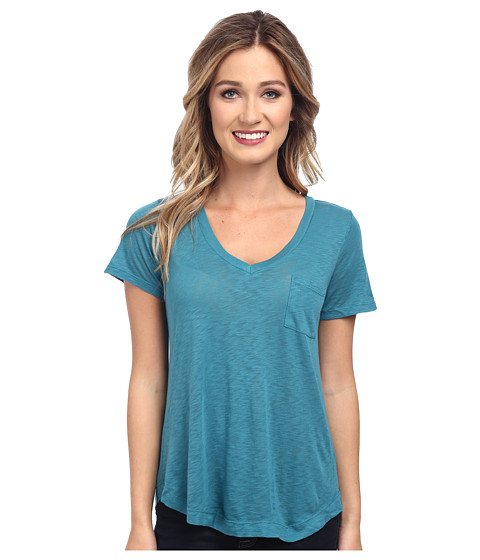 Splendid - Slub Tee (Deep Teal) Women's T Shirt