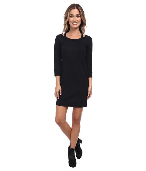 Splendid - Cutout Dress (Black) Women's Dress