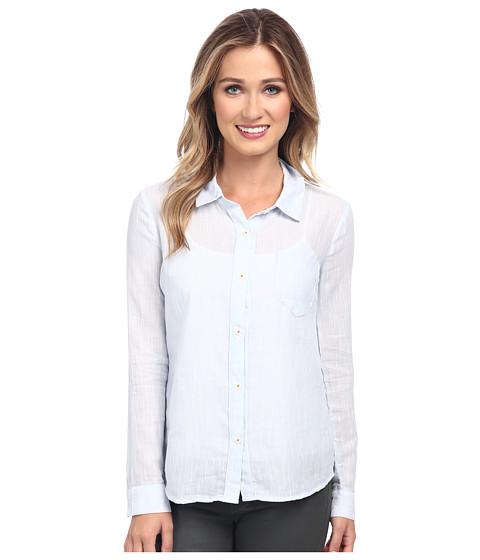 Splendid - Dockaway Button Front Shirt (Stonewash) Women