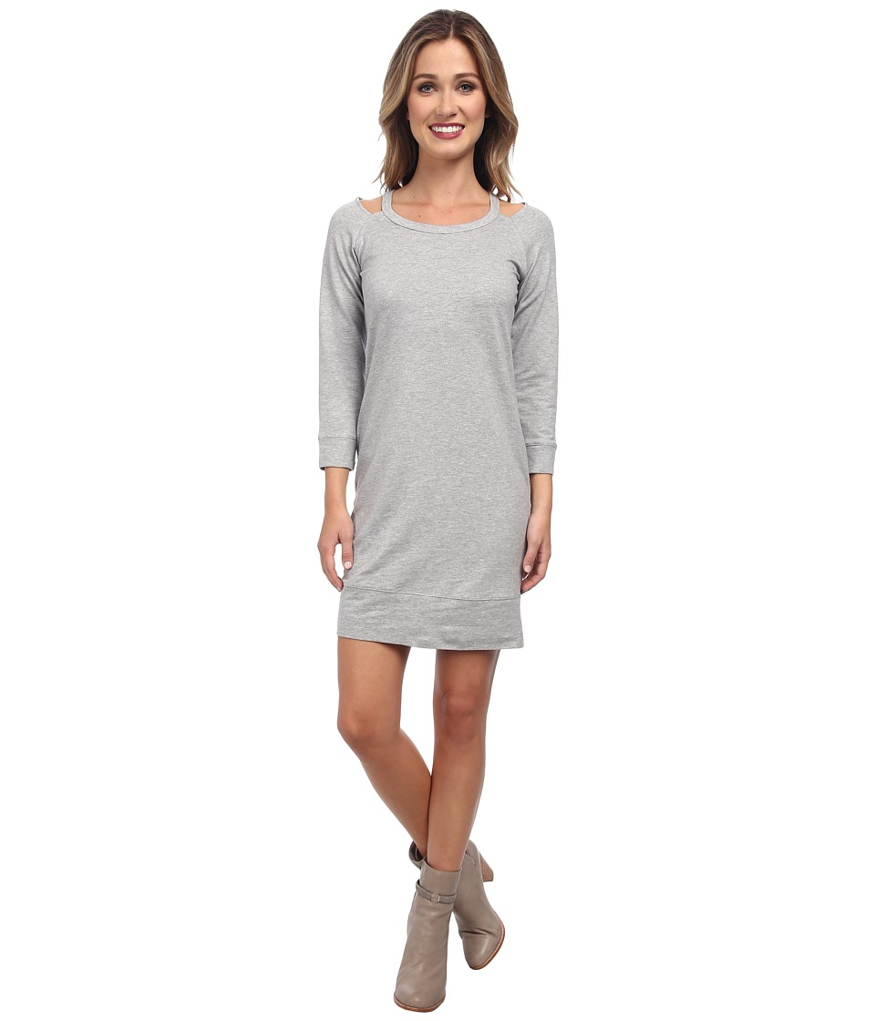 Splendid - Cutout Dress (Heather Grey) Women
