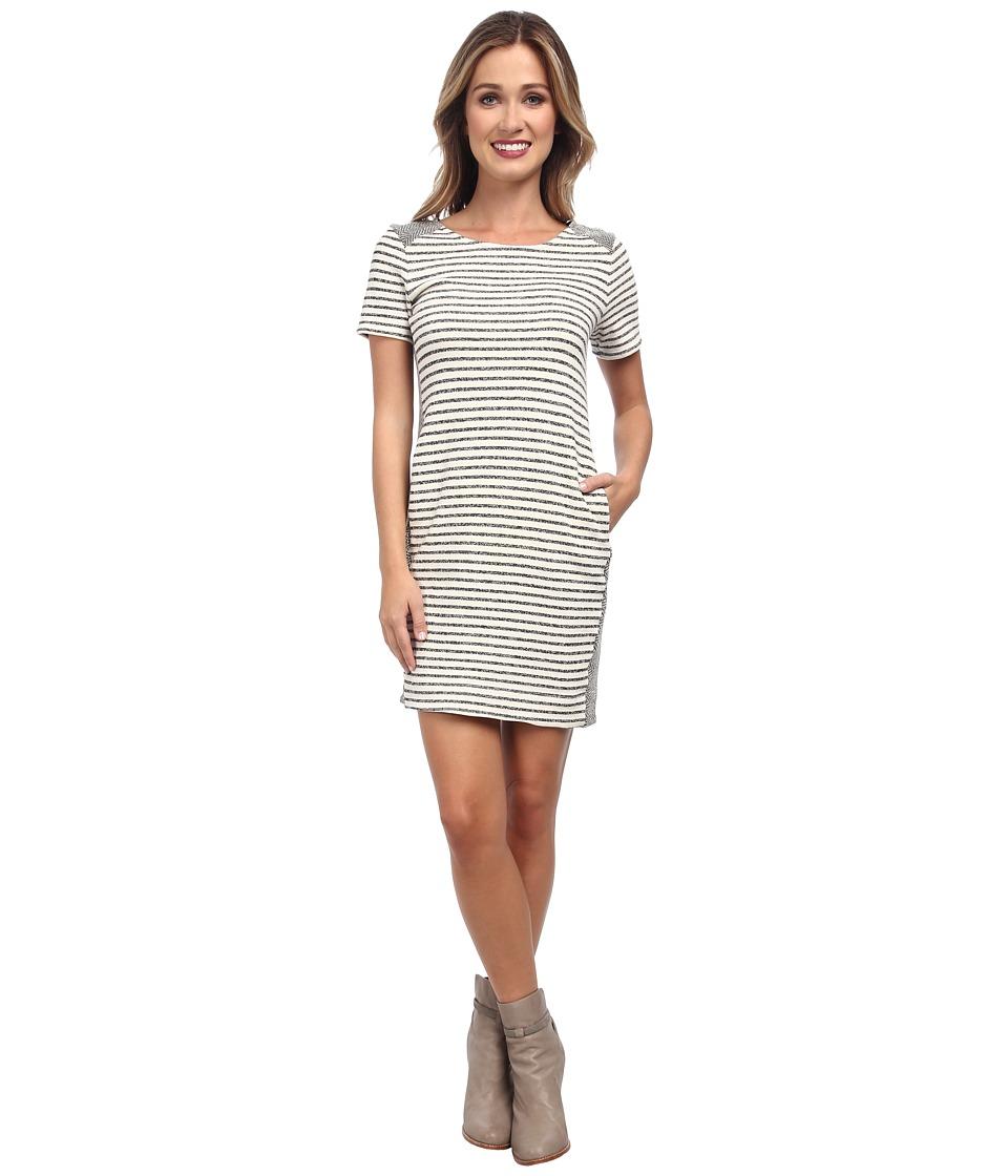 Splendid - West Shore Stripe Dress (Black) Women's Dress