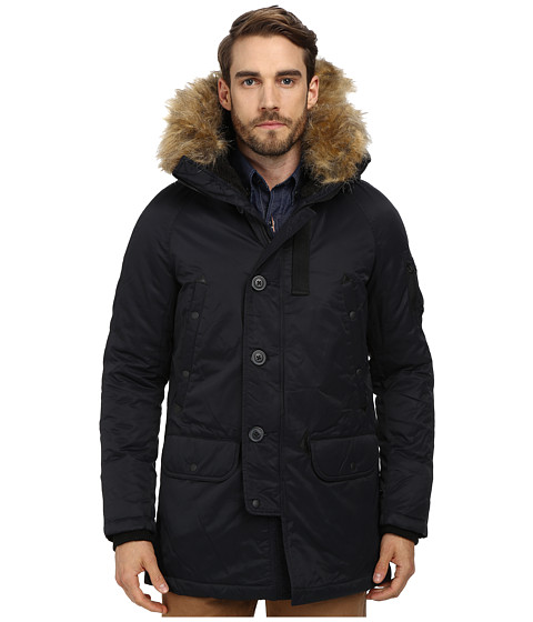 Spiewak - Waxed N3-B Snorkle Parka FF (Caviar) Men's Coat