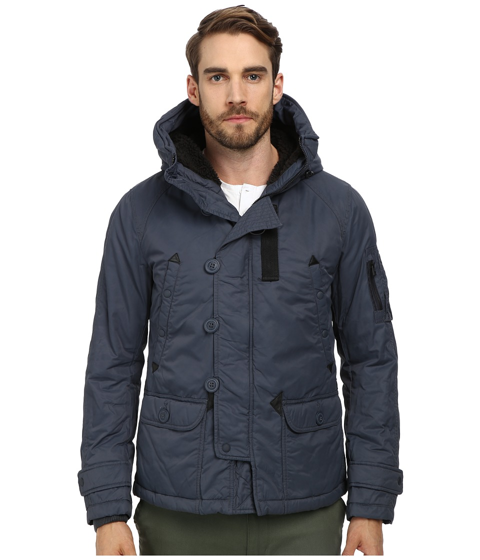 Spiewak - Heron Snorkel Jacket (Ombre Blue) Men's Coat