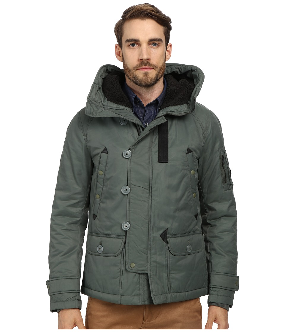 Spiewak - Heron Snorkel Jacket (Sage) Men's Coat
