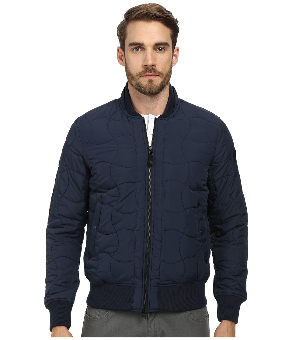 Spiewak - Quilted Ma-1 Bomber (Insignia Blue) Men's Coat