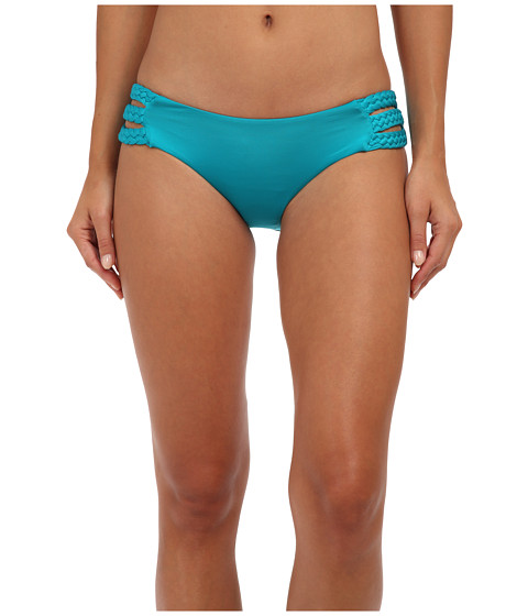 Vitamin A Swimwear - Chloe Triple Braid Bottom (Aruba) Women's Swimwear